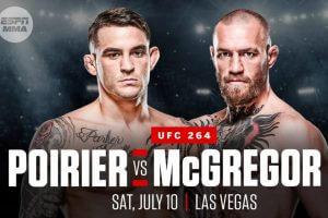 UFC 264 Poirier vs. McGregor 3