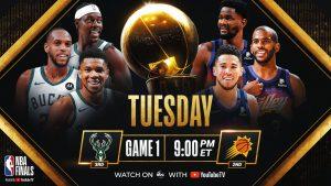 NBA Finals Preview Bucks vs. Suns