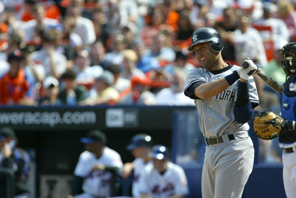 Longtime leader of the Yankees Derek Jeter